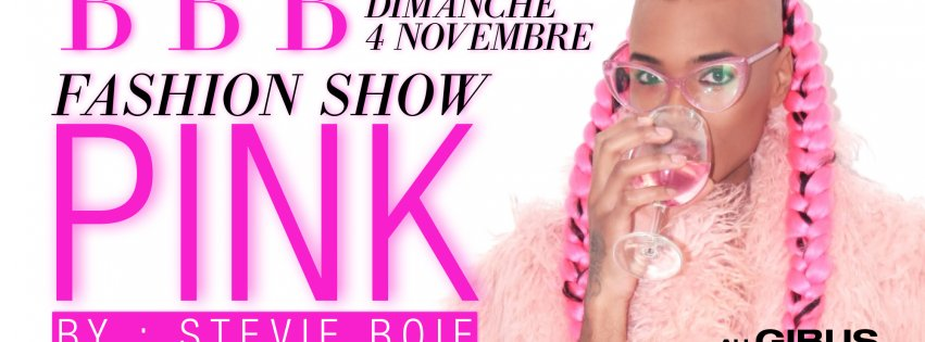 STEVIE BOI FROM BALTIMORE : FASHION SHOW PINK