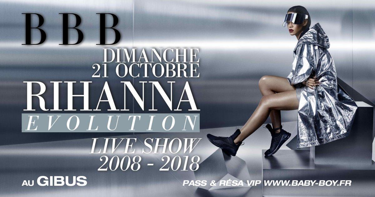 BBB RIHANNA EVOLUTION - 2008-2018