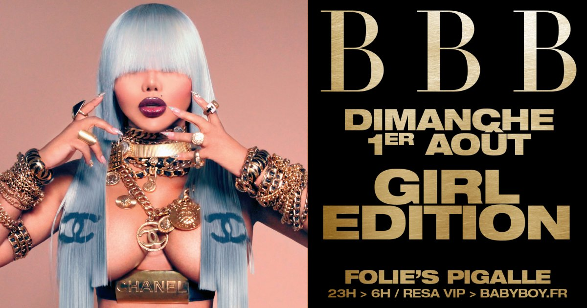 Soiree BBB au Folies Pigalle - GIRL EDITION