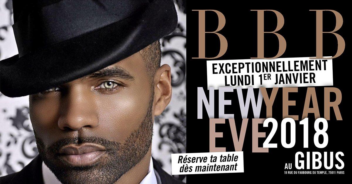 Lundi 01 janvier 2018 : BBB NEW YEAR EVE - HAT EDITION (CHAPEAU)